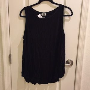 Old Navy Tops - NWT Black Swingy Tank